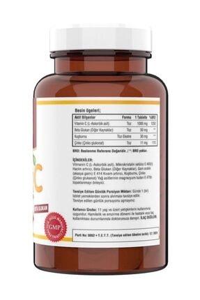 Ncs C Vitamini 1000 mg 120 Tablet Kuşburnu Beta Glukan Vitamin C 1