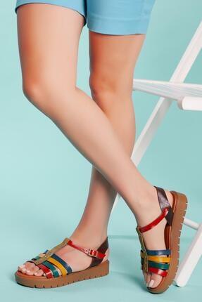 Muggo Hakiki Deri Sandalet Sndt04 1