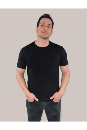 BASIC MIRROR Kadın Vantablack Regular Fit Basic T-shirt 1