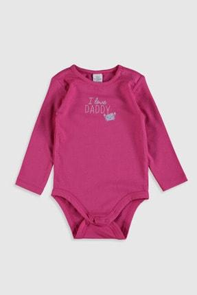 LC Waikiki Kız Bebek Sarı Ftt Bebek Body & Zıbın 4