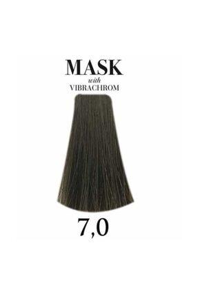 Davines Mask Vibrachrom 7,0 Orta Kumral Saç Boyası 100ml 0