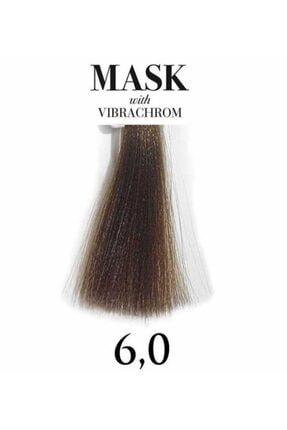Davines Mask Vibrachrom 6,0 Koyu Kumral Saç Boyası 100ml 0
