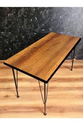 Yirmi15 Metal Sezen Barok Ceviz Renk 60x120cm Mutfak Masası 2