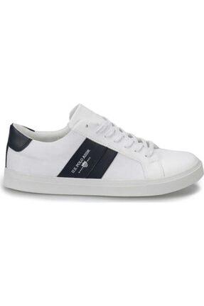 US Polo Assn 100357277 Anton Beyaz Erkek Sneaker Ayakkabı 1