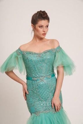 Yeşil Bayan Abiye 3265
