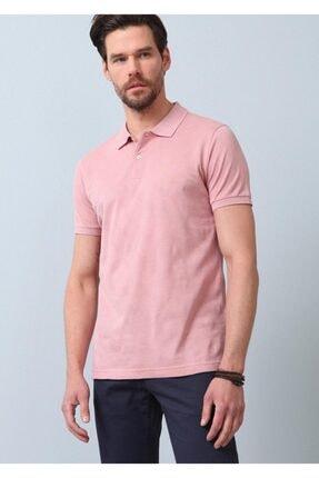 Ramsey Erkek Pembe Jakarlı Örme T - Shirt RP10119893 1
