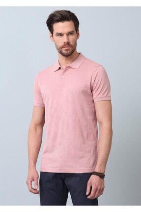 Ramsey Erkek Pembe Jakarlı Örme T - Shirt RP10119893 3