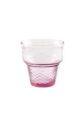 Paşabahçe Dondurmalık, Mini Cornet Pembe 6'lı Set (410006) 1
