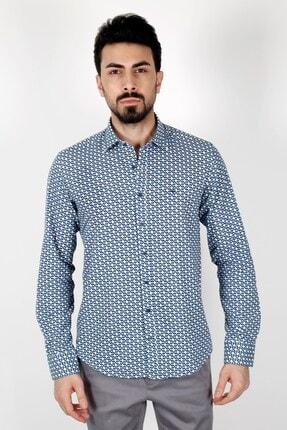 Jakamen Lacivert Regular Fit Gömlek 1