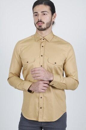 Jakamen Taba Slim Fit Gömlek 1