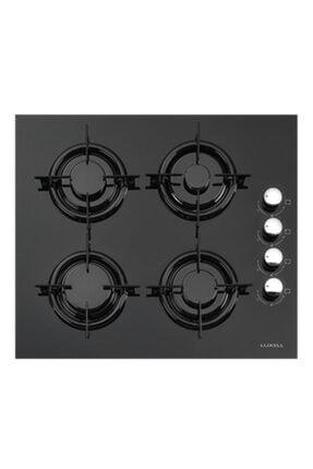 Luxell Lx-40tahdf Doğalgazlı Yandan Düğmeli Cam Siyah Ankastre Ocak 0