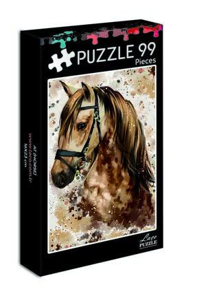 LAÇO KİDS 99 Parça Mini At Puzzle 0