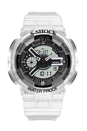Watchart Marka Analog Dijital S-shock Çocuk Kol Saati Stc00212 0