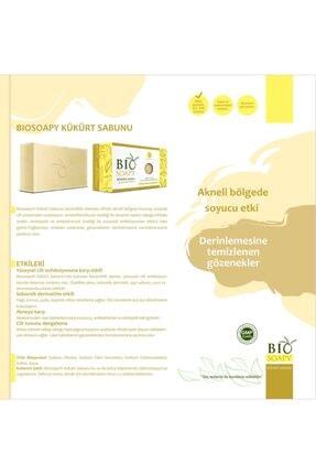 Biosoapy Doğal Kükürt Sabunu 100 Gr X 3 Adet (akneli Bölgede Soyucu Etki) 2