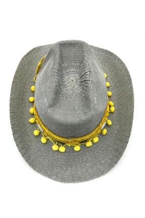 İstanbul Şapka Kadın Gri Şapka 2
