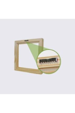 Dekolata Aya Tırmanan Adam Mini Kanvas Tablo 40 X 60 cm 2