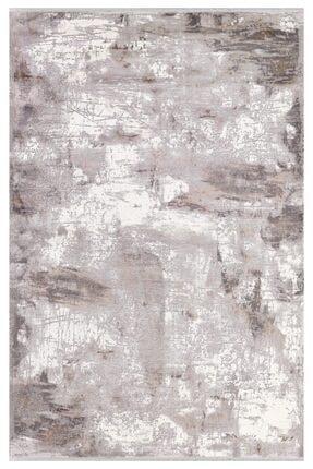 Padişah Halı Gri Desenli Halı 160x230 Abstract Koleksiyonu 31872-020 0