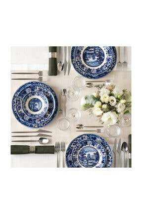 Karaca New Blue Odyssey 6 Kişilik Yemek Takımı 0