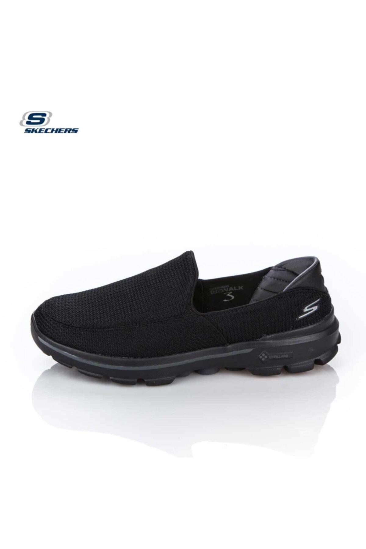Skechers Siyah Erkek Spor Ayakkabı 53980 Bbk Go Walk 3 Black