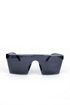 Büyük Kare Siyah Bayan Güneş Gözlüğü resmi