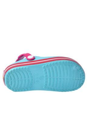 Kiko Kids Kız Çocuk Mavi Plaj Sandalet E196.46 3