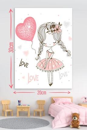 RetroKent Love Little Girl Retro Kent Tablo 1