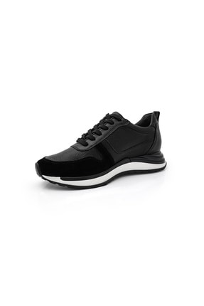 BluFENIX Kadın Siyah Düz Taban Sneaker 1