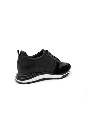 BluFENIX Kadın Siyah Düz Taban Sneaker 2