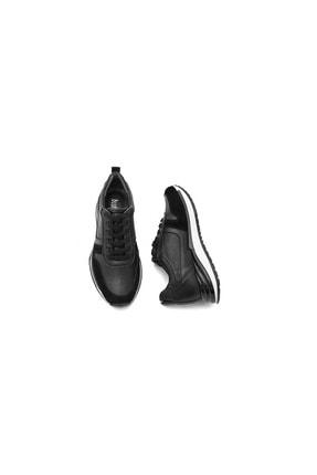 BluFENIX Kadın Siyah Düz Taban Sneaker 3