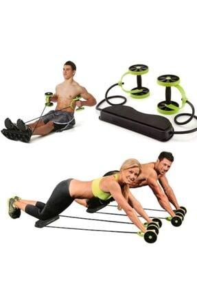 KapınaKadar Multiflex Pro Tekerlekli Egzersiz Spor Aleti Mekik Sehpası Fluss 5 Fonksiyonlu Pilates Fitness Aleti 0