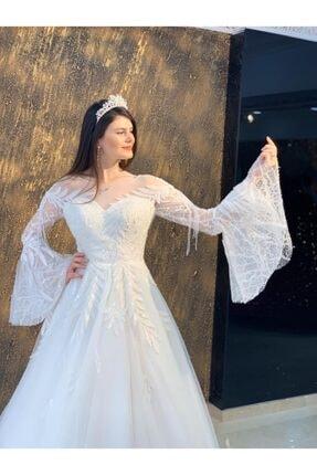 Womentic Bridal Kol Işlemeli Gelinlik 2
