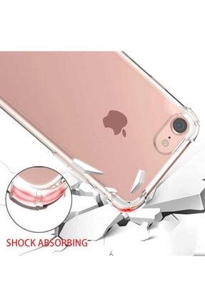 Yeni1Trend Apple Iphone 7 Plus Kılıf Şeffaf Silikon Tam Korumalı Dayanıklı 2