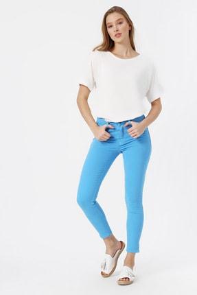 Koton Kadın Mavi Pantolon 0