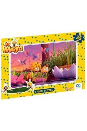 CA Games Arı Maya - Frame Puzzle 2 - Pembe (35 Parça) 0