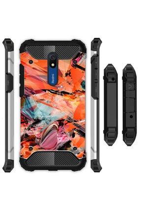 cupcase Xiaomi Redmi 8a Kılıf Desenli Sert Korumalı Zırh Tank Kapak - Cio 0