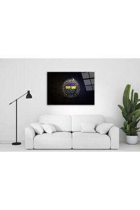 Pi Dekorasyon Fenerbahçe Cam Tablo 50x70 Cm 0