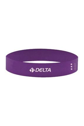 Delta Tam Sert Aerobik Bandı Latex Bant Pilates Yoga Lastiği 0