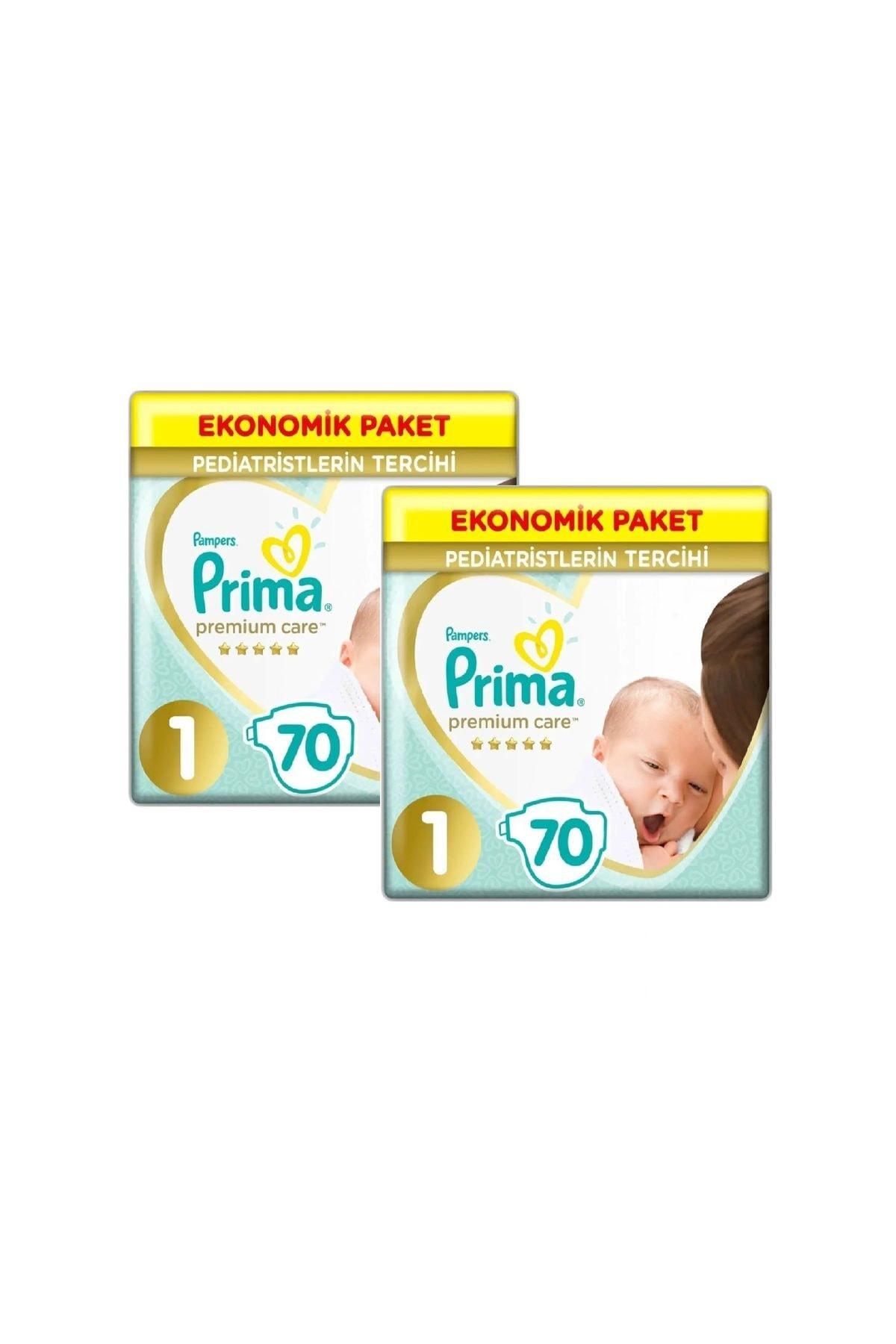Bebek Bezi Premium Care 1 Beden Yenidoğan 70 X 2 Adet 140'lı