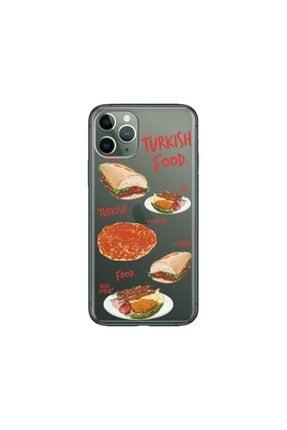 cupcase Iphone 11 Pro 5.8 Inch  Kılıf Desenli Esnek Silikon Telefon Kabı Kapak - Kebap 0
