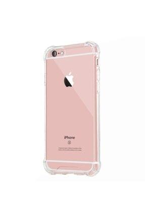 Mopal Iphone 6 / 6s Anti Şok Darbe Emici Silikon Şeffaf Kılıf Kapak 1