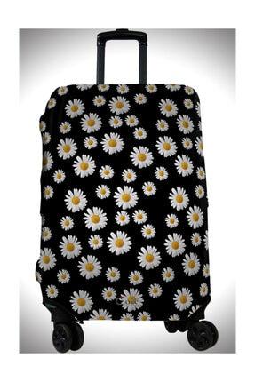 Clove Valiz Kılıfı Bavul Kılıfı Renkli Desenli Büyük,Orta,Kabin boy 0
