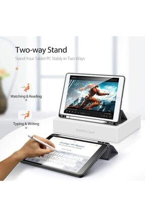 Haweel Apple Ipad Air 3.nesil 10.5 Kalem Yerli Standlı Mıknatıslı Lüx Deri Kılıf 4
