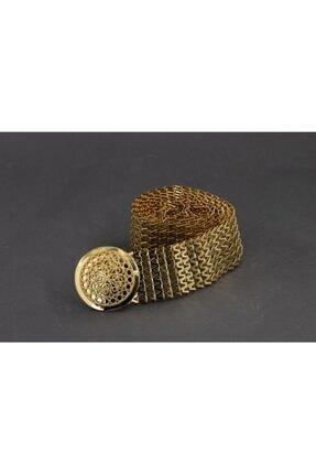SHEHBA Kadın Altın Görünümlü Kemer Ag050407 0