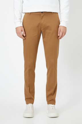 Koton Erkek Deve Tüyü Pantolon 0KAM42821BW 2