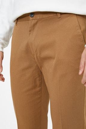 Koton Erkek Deve Tüyü Pantolon 0KAM42821BW 4