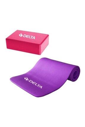 Delta 15 Mm Yoga Matı - Pilates Minderi Ve Yoga Blok Yoga Köpüğü 0