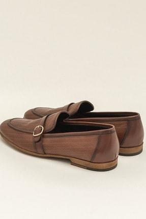 Elle BOLAND Hakiki Deri Taba Erkek Ayakkabı 1