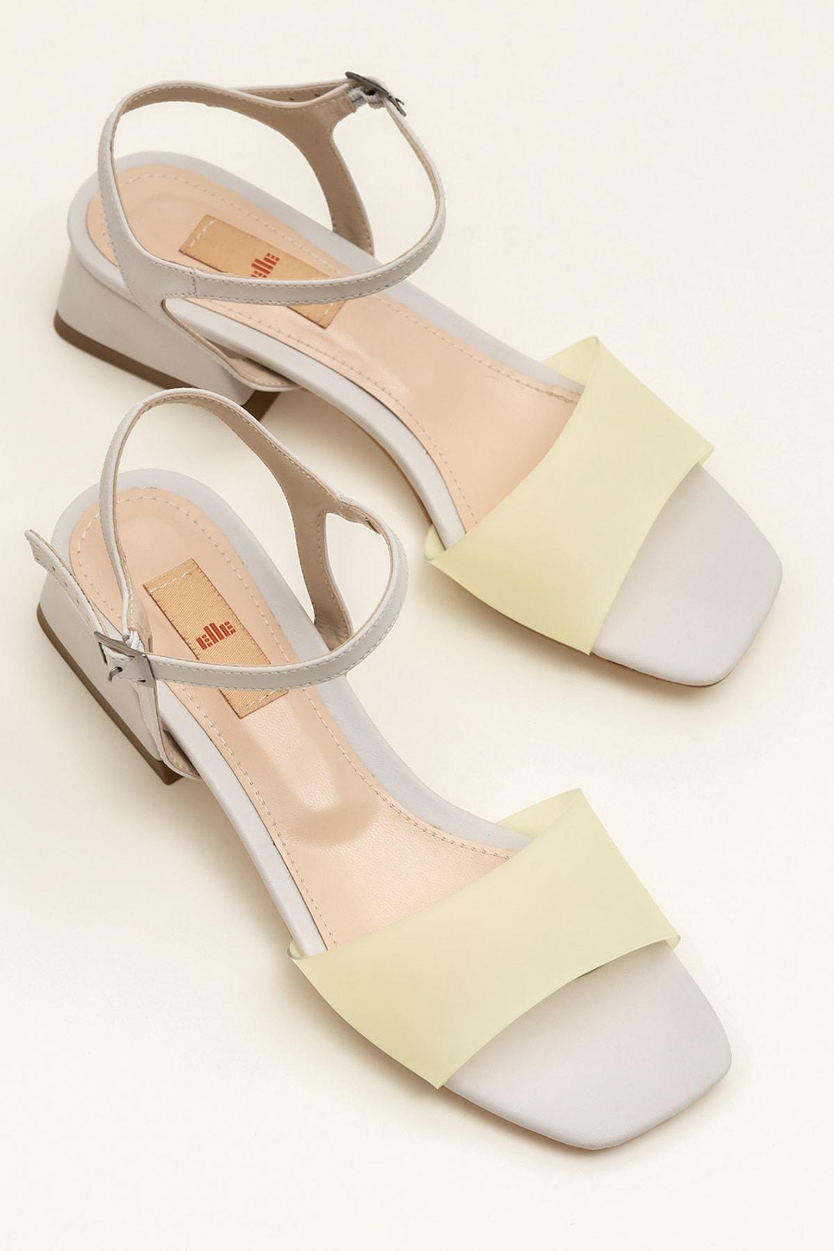 Karolıne Sarı Kadın Sandalet 20Ybu0212-310