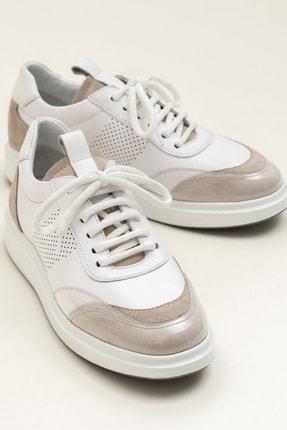 Elle FARSON Beyaz Kombin Kadın  Sneaker 20YSE192360 0