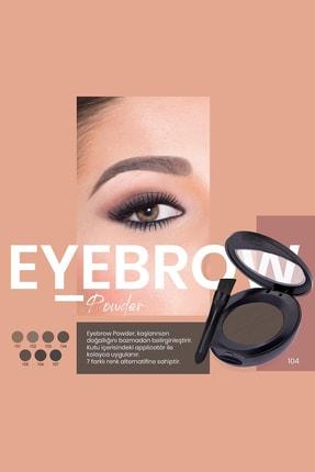 Golden Rose Kaş Farı - Eyebrow Powder No: 105 1